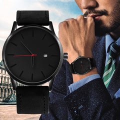 SOXY Men's Watch Fashion Watch For Men Relojes Hombre 2019 Top Brand Luxury Watch Men Sport Watches Leather relogio masculino