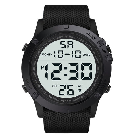 Men Sports Watches Fashion Chronos Countdown Men's Waterproof LED Digital Watch Man Military Clock Relogio Masculino digital wat