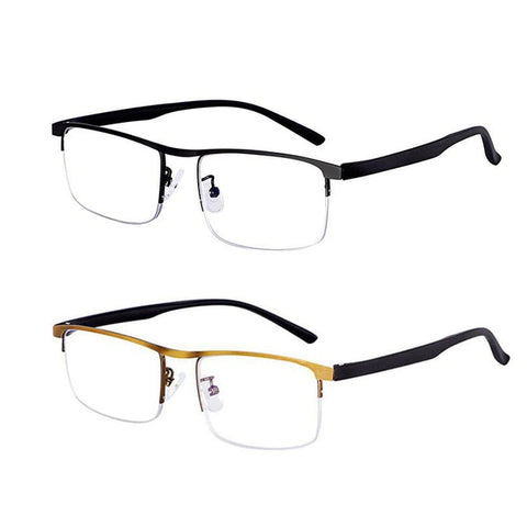 EVUNHUO Intelligent progressive reading glasses for men women near and dual-use Anti-Blue Light automatic adjustment Eyewear