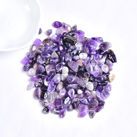 50g/100g Natural Crystal Gravel Specimen Rose Quartz Amethyst Home Decor Colorful for Aquarium Healing Energy Stone Rock Mineral