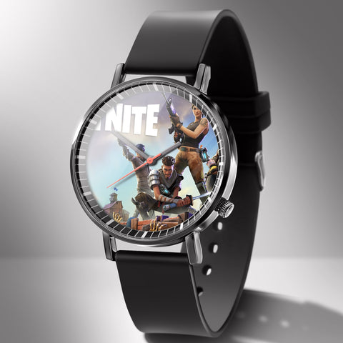 Fortnite Watch Trend Fashion Men's Creative Electronic Student Watches Game Figure Model Birthday Gift