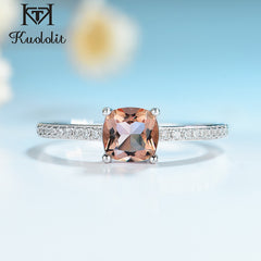 Kuololit Diaspore Zultanite Gemstone Rings for Women Girls Solid 925 Sterling Silver Wedding Engagement Topaz Emerald Sapphire