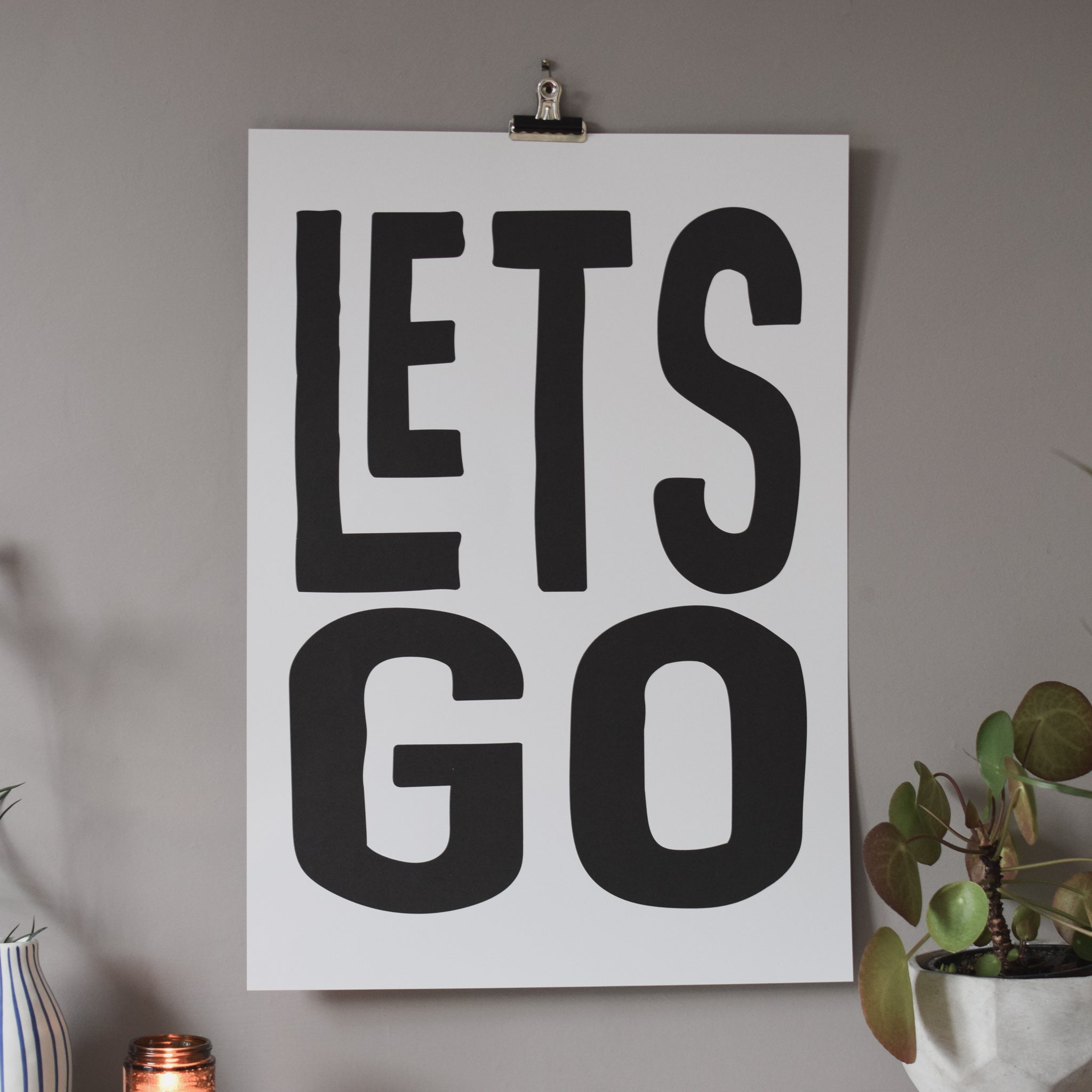 A2 Let's Go Print