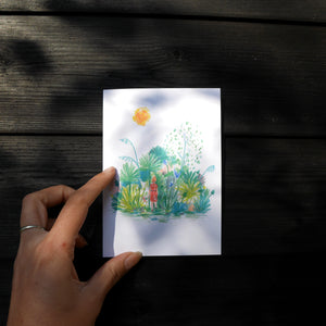 Getting Lost in Nature Card