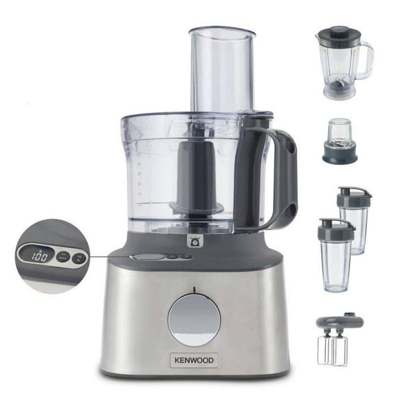 Kenwood FDM312SS Multipro Compact+ Food Processor - EasyGoodsUK