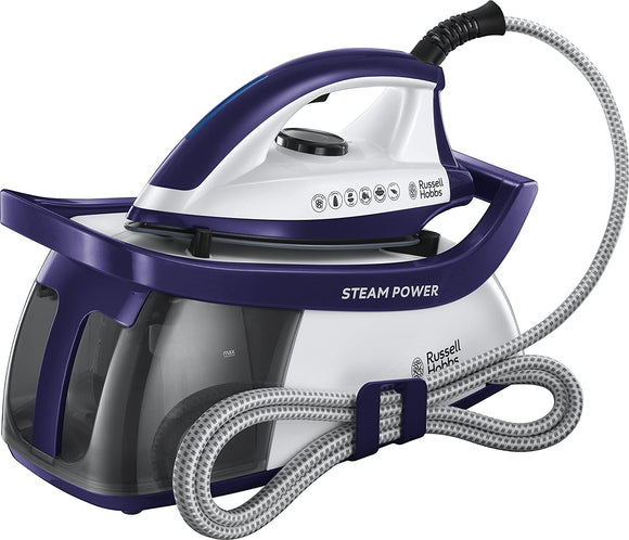 Russell Hobbs 24440 Steam Power Purple Steam Generator Iron | EasyGoodsUK