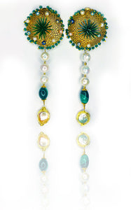 Earrings: Glorious Oasis