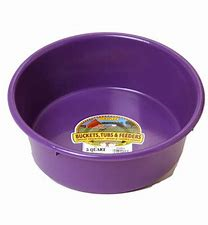 Plastic Feed Pan - 5qt
