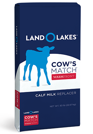 Land O' Lakes Cow's Match Warm Front