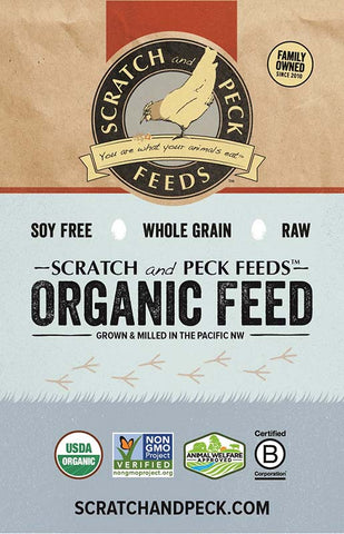 Scratch & Peck Organic Pig Grower - 40lb.
