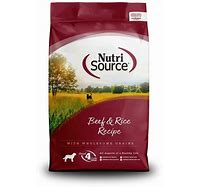 NutriSource Beef & Rice Formula 15lb