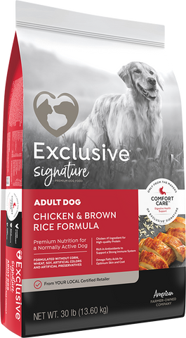 Exclusive Adult Dog 30lb