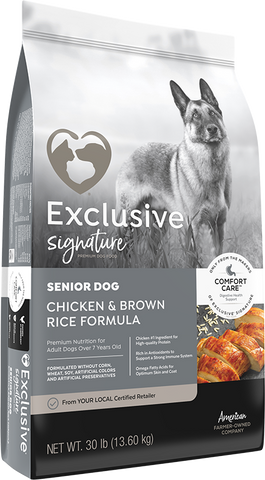 Exclusive Senior Dog 15lb