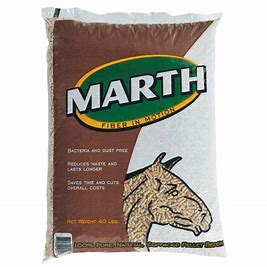 Marth Softwood Bedding Pellets