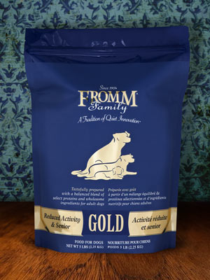 Fromm Reduced Activity & Senior Gold 15lb