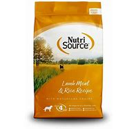 NutriSource Lamb Meal & Rice Formula 15lb
