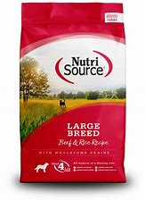 NutriSource Large Breed Beef & Rice Formula 30lb