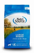 NutriSource Large Breed Chicken & Rice 30lb