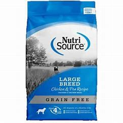 NutriSource Large Breed Chicken & Pea Recipe 30lb
