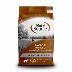 NutriSoruce Large Breed Lamb Meal & Pea Formula 30lb