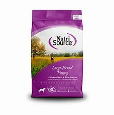 NutriSource Large Breed Puppy 30 lb
