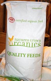 Nature's Grown Organic 18% Layer Pellet/No Soy