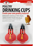 Poultry Drinking Cups - 2pk