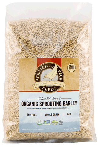 Scratch & Peck Cluckin' Good Sprouting Barley