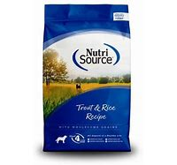 NutriSource Trout & Rice Formula 15lb