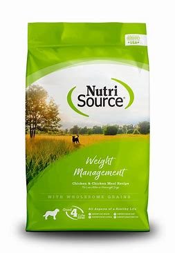 NutriSource Weight Management 30lb