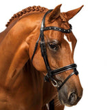 BLACK SNAFFLE BRIDLE 'Philomena'