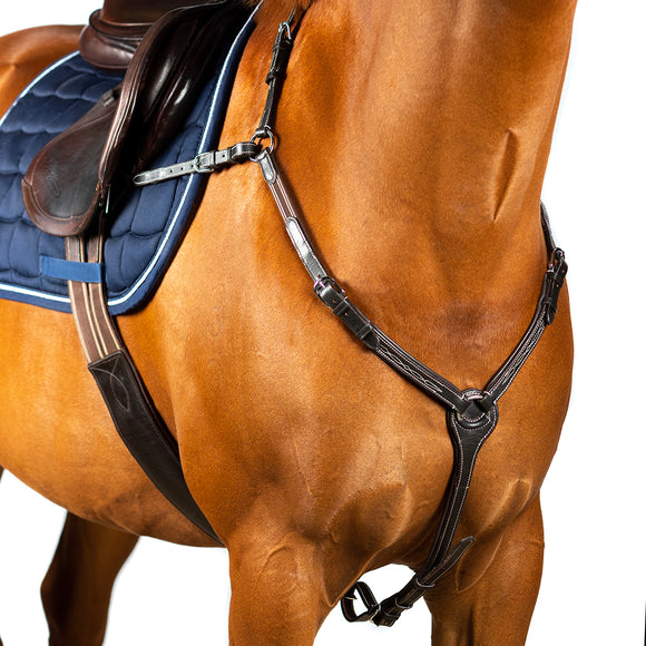 FANCY STITCH LEATHER BREASTPLATE