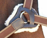 Breastplate Sheepskin Pads