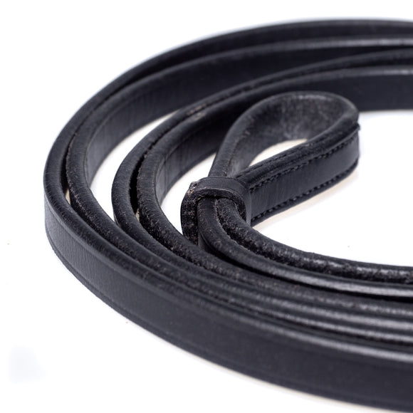 CURB BLACK REINS - Flexible Fit Equestrian LLC