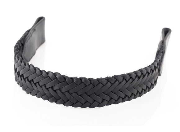 WEAVE OVERLAY - BLACK BROWBAND