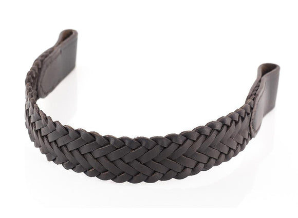 WEAVE OVERLAY - HAVANA BROWBAND - Flexible Fit Equestrian LLC