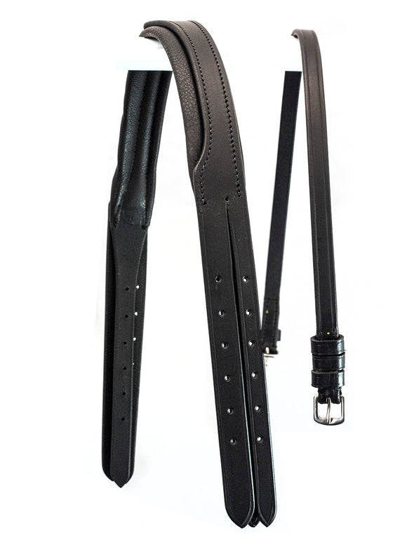 SNAFFLE MONOCROWN BLACK CROWNPIECE FOR SCHOOLING BRIDLE