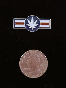 CannAmerica Retro Logo Lapel Pin
