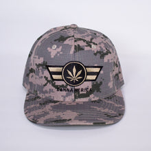 Load image into Gallery viewer, Cammo cannamerica baseball cap hat