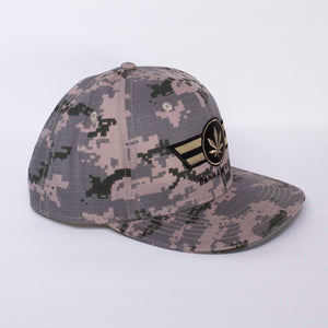 Digital Camo CannAmerica Hat
