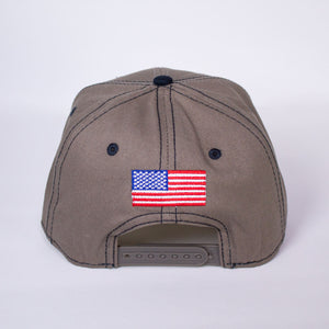 Gunmetal Gray CannAmerica Hat