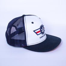 Load image into Gallery viewer, Classic Red/White/Navy CannAmerica Hat
