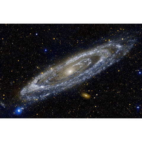 Metal Poster Print of A Galaxy Next Door from C'est La Vie Prints