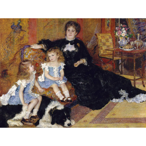 Auguste Renoir - Madame Georges Charpentier Print on Metal