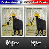 Metal Poster Print of JOB Poster from C'est La Vie Prints