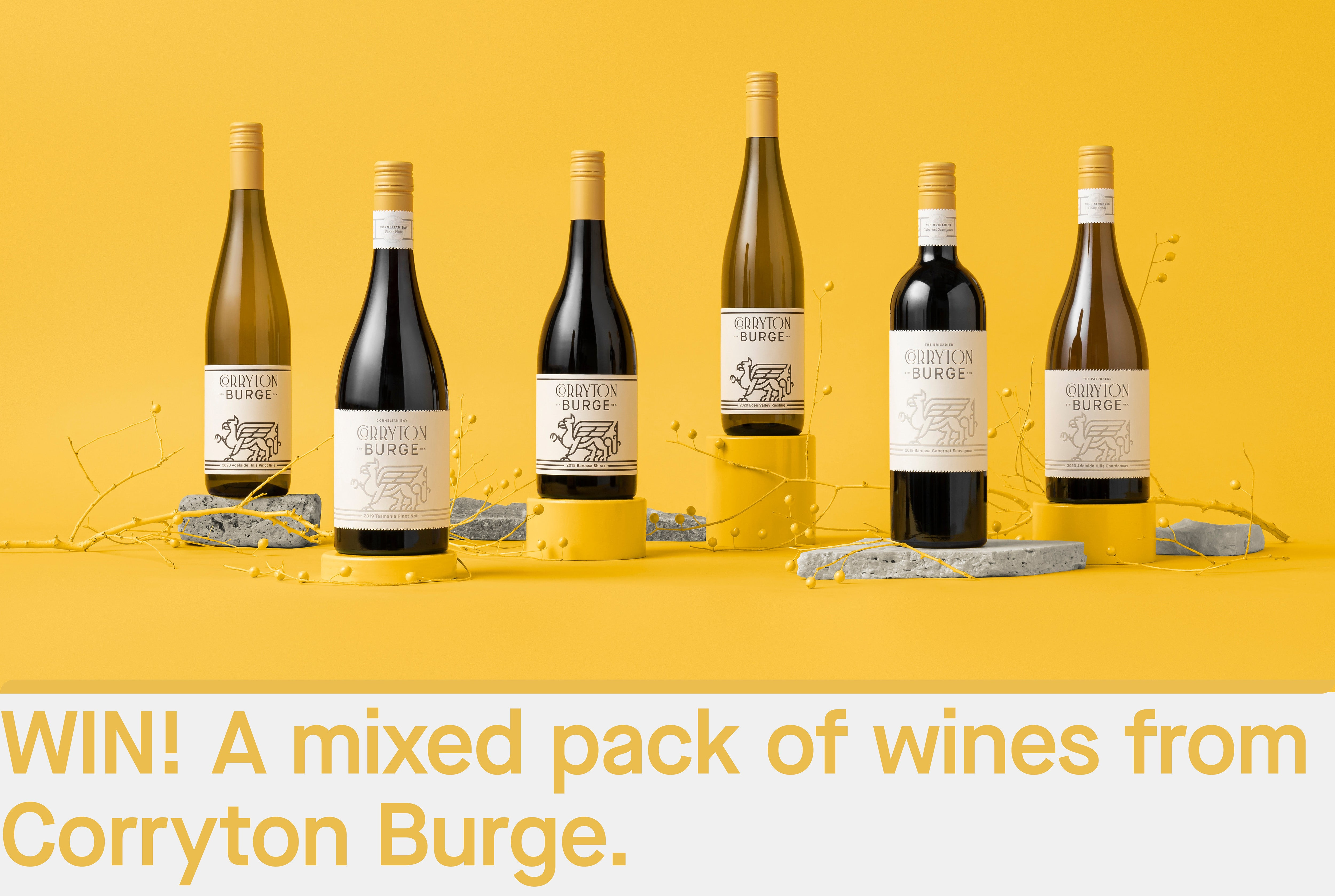 Corryton Burge Win A Mixed Pack of Wines