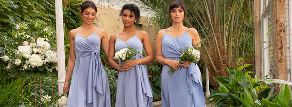 Something Blue: 10 blue and navy bridesmaid dresses for the big day