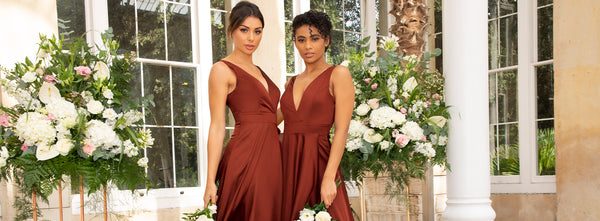 Red is for Romance: 5 red bridesmaid dresses for your dream wedding