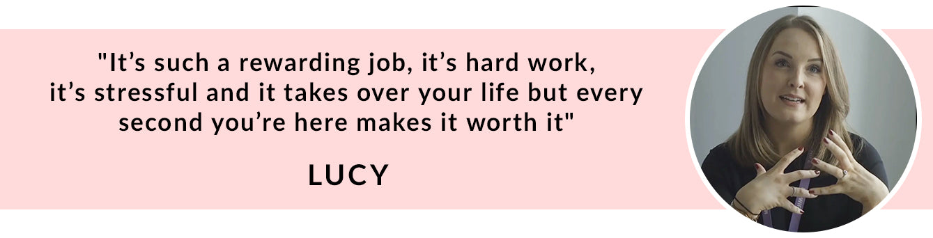 Lucy Midwife Quote