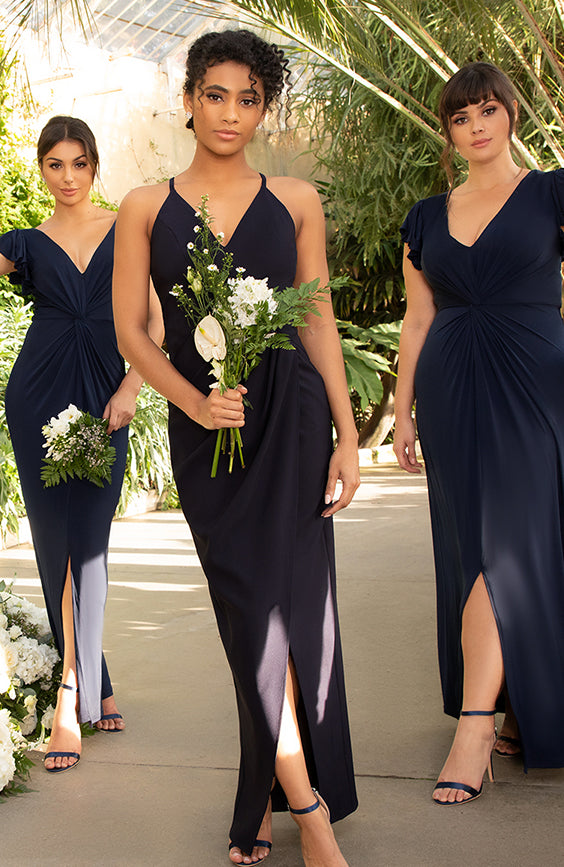 Navy Mix Dresses